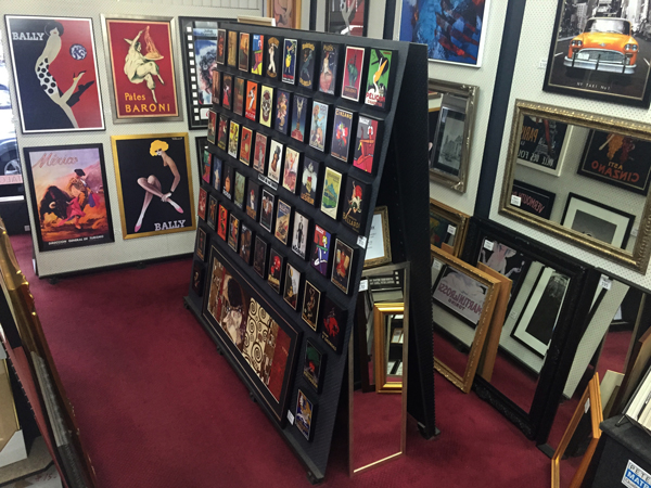 custom framing and art stock